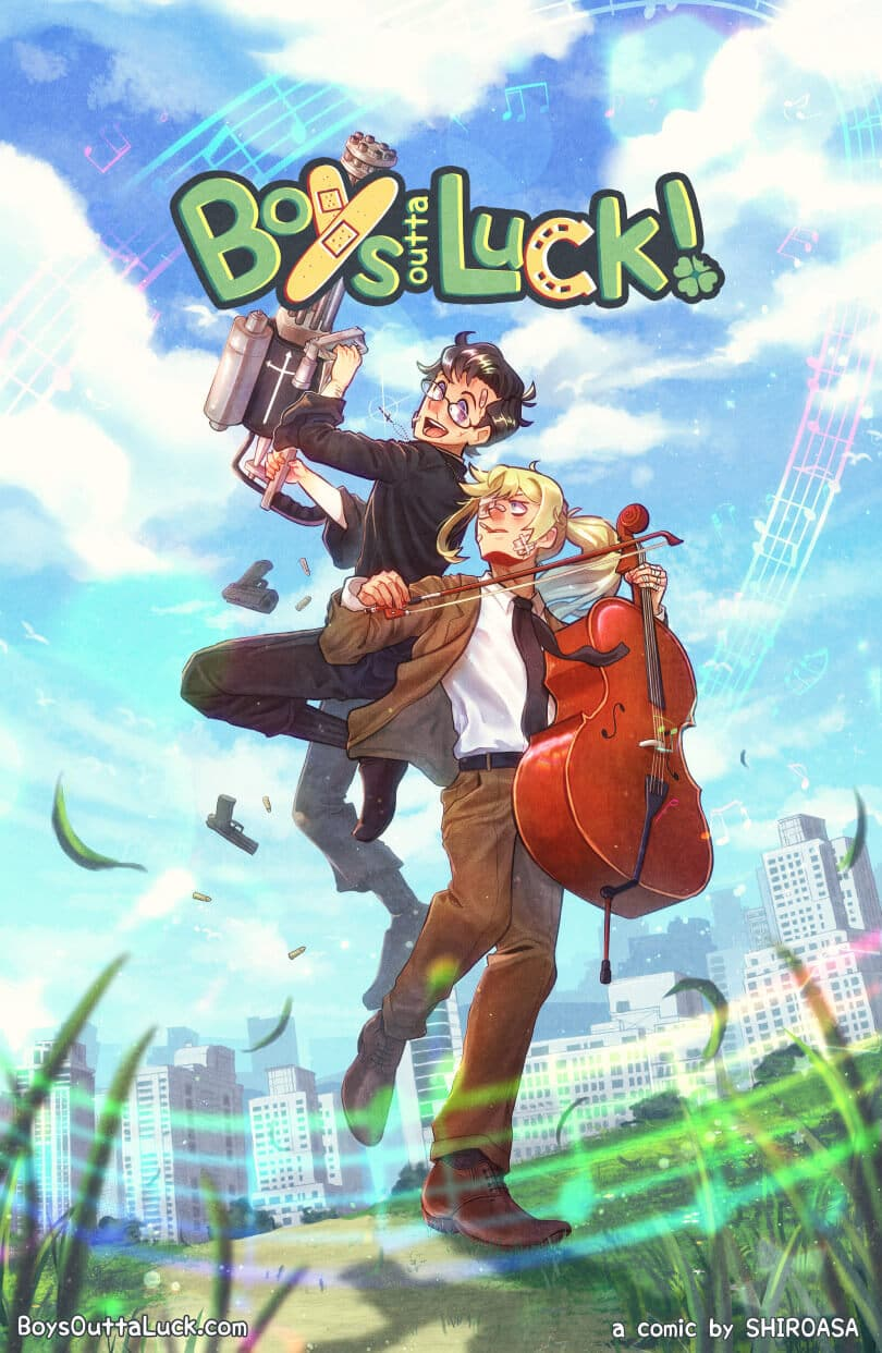 Boys Outta Luck! Cover
